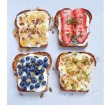 toast aux fruits